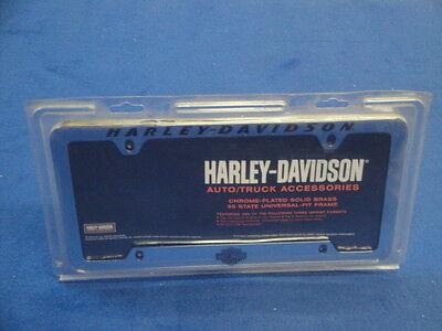 Harley Davidson Script License Plate Frame Truck Car