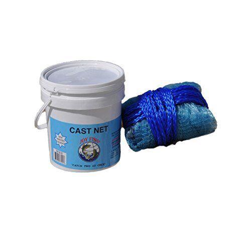 Lee Lee Lee Fisher Joy Fish Fishing Mullet Cast Net - 1.25 lb of Lead per Radius Panel 39031f