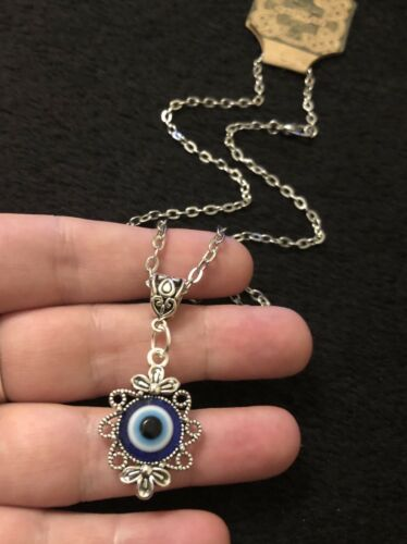 Evil Eye Pendant Amulet ayn al-ḥasūd Nazar Turkish Greek Protection Lucky Charm