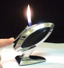 Briquet ancien Table * MARUMAN T-21 ROBIN * Desk Lighter * Feuerzeug * Accendino