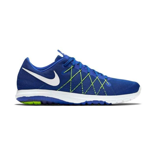 new styles 4750e 8e2ac Mens NIKE FLEX FURY 2 Blue Training Trainers 819134 400