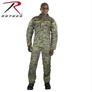 Buy ACU Woodland Digital Camo Mens Combat Uniform Shirt Jacket ... cdee6bec2e