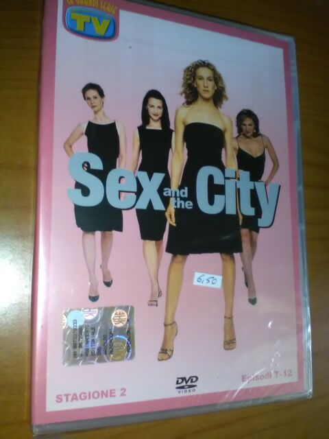 SEX AND THE CITY - STAGIONE 2 EPISODI 7-12  DVD NUOVO  E SIGILLATO