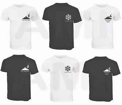 9cdf6323a8a6 Details about Mens Personalised Ski Holiday Trip Resort T-Shirts Skiing  Snowboard Tops S-3XL