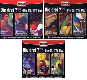 9-CDs-DIE-DREI-FRAGEZEICHEN-FOLGEN-55-63-CD-BOX-19-21-SET-NEU-OVP