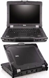 dell xfr e6400 xfre6400 rugged army laptop win 7 pro 64 bit 4gb ram rh ebay com Dell Latitude XFR Dell XFR D630 Toughbook