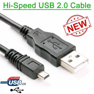 Sony Cybershot DSC-W800// DSC-W810 Digital Camera USB Cable Lead Battery Charger