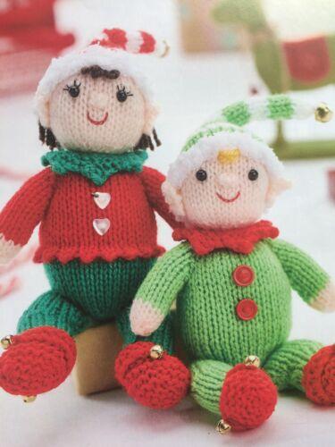 Buddy /& Belle KNITTING PATTERN DK Christmas Elf K1