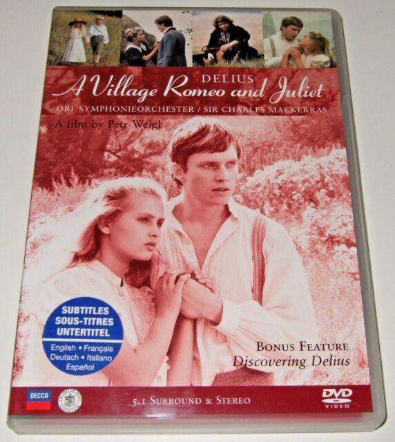 Delius: A Village Romeo and Juliet (DVD, 2003) Petr Weigl, Charles Mackerras