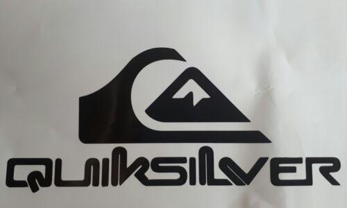 Quiksilver Surf Skateboard Snowboard Auto Camper Adesivo Decalcomania 200mm