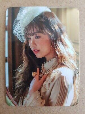 - inactivo G-inactivo miyeon #1 auténtico OFFICIAL PHOTOCARD 2nd álbum 미연 bien hecho G