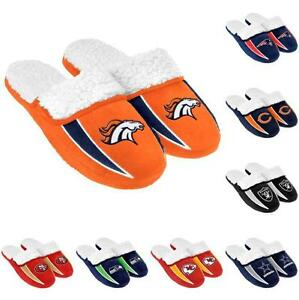 4268d64d6852 NFL Football 2013 Sherpa Slide Shoe Slippers - New! - Pick Your Team ...