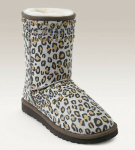 Authentic Jimmy Choo UGG Boots Leopard