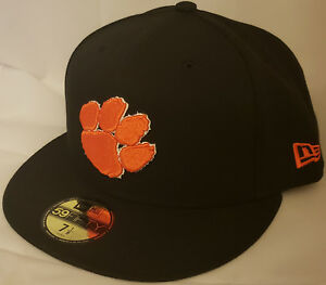 sale retailer f307e c88c3 Image is loading NWT-New-Era-Clemson-TIGERS-59FIFTY-fitted-size-