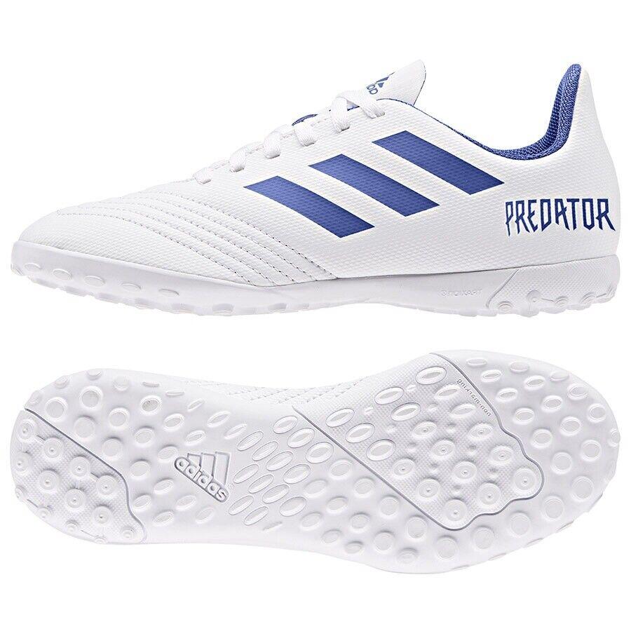sautope  adidas Prossoator 19.4 TF J CM8558 bianca  37 13 Soccer Footbtutti stivali