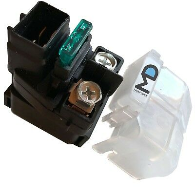 Motadin Starter Relay Solenoid compatible with Suzuki KINGQUAD 750 LT-A750X 2008-2009 2011-2018