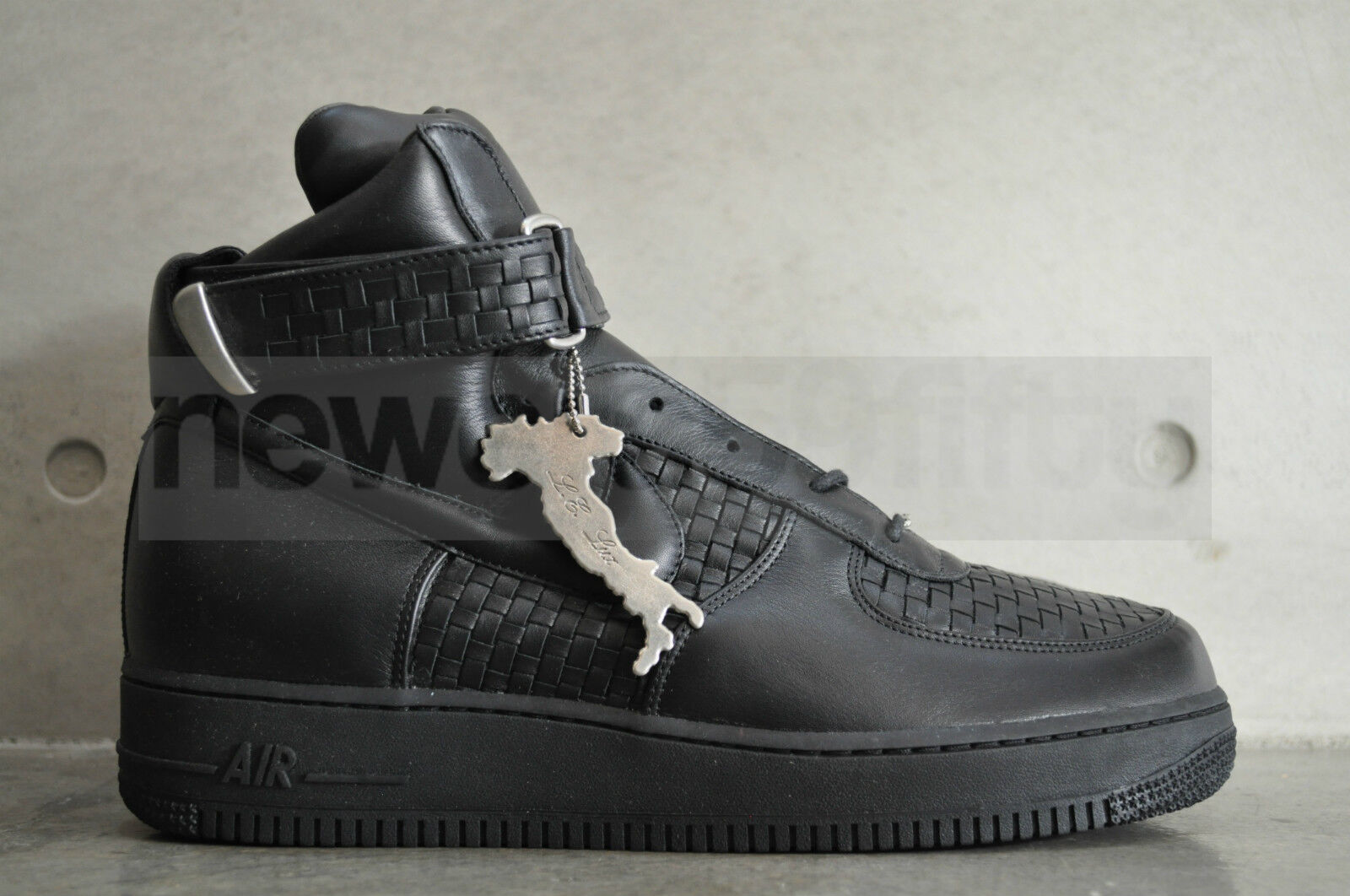Nike Air Force 1 High Made Lux Made High In Italy - Noir / Noir 480fec
