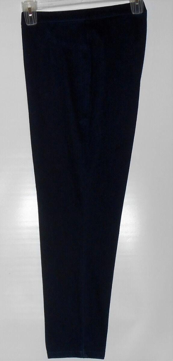 Alfred Dunner Woman's Slim Leg Knit Stretch Pants Denim Twenty (20) NWT