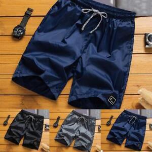 Hombres-Verano-Playa-Casual-Pantalones-Cortos-Deportes-Atleticos-Traje-de-Bano-Corto-Pantalones-De