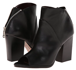 Report Signature Blare Open Toe Zip Detail Ankle Boot - NEW  - Size 8.5