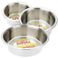 Stainless-Steel-Dish-For-Dogs-Cats-Feeding-Bowls-Small-Med-Large-XL-or-Non-Slip thumbnail 1