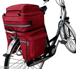 45L-Cycle-Bicycle-Bag-Bike-Double-Side-Panniers-Rear-Rack-Tail-Seat-Trunk-Bag-UK