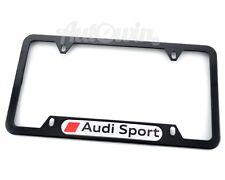 Standart License Plates For Audi Sport Frames Sport Logo New USA Model