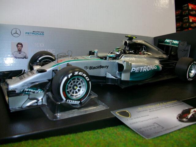 F1 MERCEDES AMG PETRONAS ROSBERG 2014 au 1/18 MINICHAMPS 110140006 formule 1