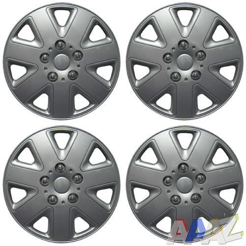 TopTech Motion 13 Inch Wheel Trim Set Gloss Black Set of 4 Hub Caps Covers