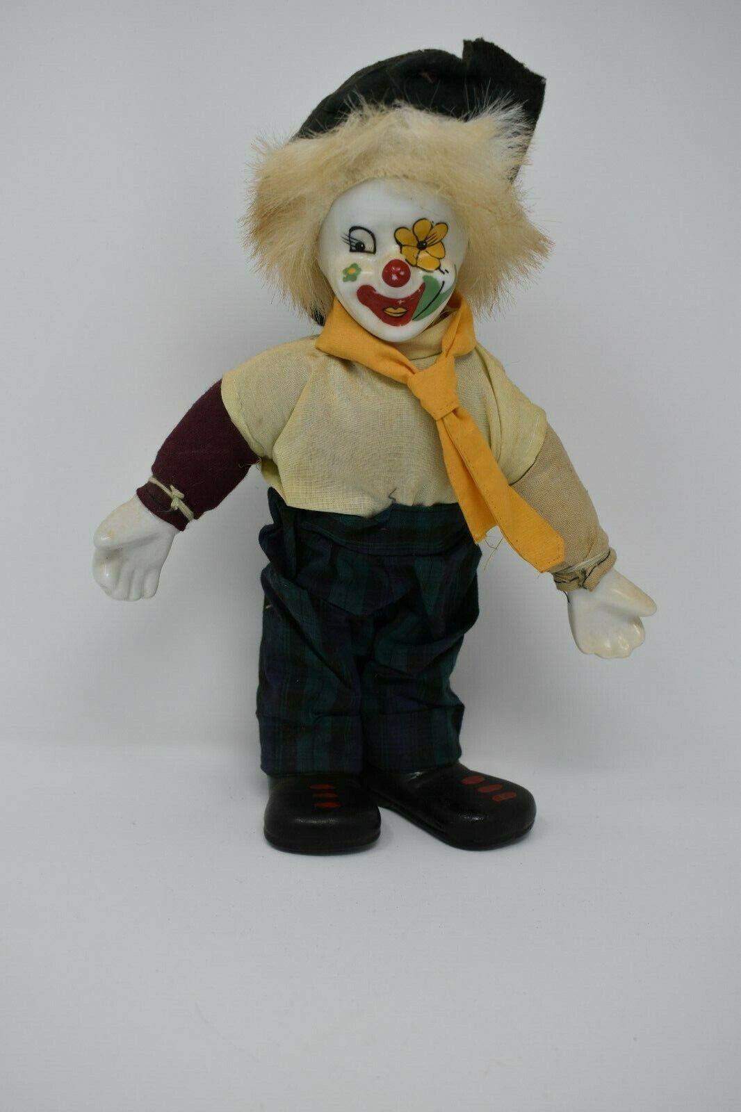 Bambola Di Porcellana Clown 12 Pollici DI ALTEZZA