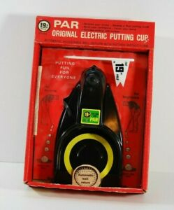RARE-EARLY-MODEL-1901-VINTAGE-19TH-HOLE-PAR-ORIGINAL-PUTTING-CUP-IN-BOX-GOLF