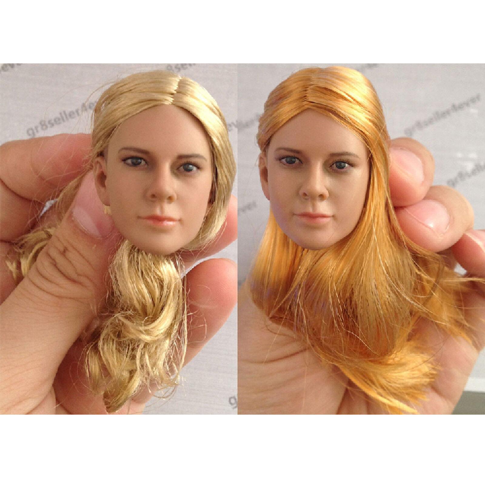 Toys D003A B 1 6 Scale Female head Sculpt  For 12  Hot Toys Phicen Action Figure  mode