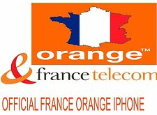 IPHONE SE 6S 6S PLUS 6 PLUS 6 5S ORANGE FRANCE OFFICIAL UNLOCK CODE (1-12 HOURS)