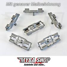 10x Zierleistenklammer Befestigung Clips für BMW X5 E53 - 51717006757 NEU
