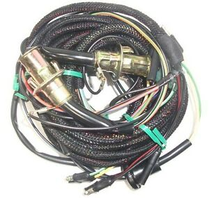 67 Mustang Tail Light Wiring Harness W Low Fuel Lamp Sockets Fastback Coupe Ebay