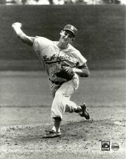 LARRY SHERRY 8x10 1959 World Series Champs LOS ANGELES DODGERS Vintage B&W Photo