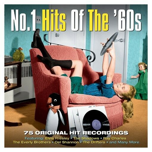 No. 1 Hits Of The 60s (NOT3CD175) VARIOUS 75 Original Recordings BEST New 3 CD