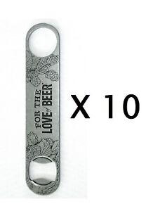 Samuel Adams For The Love of Beer Paddle Bottle Opener Bar Key