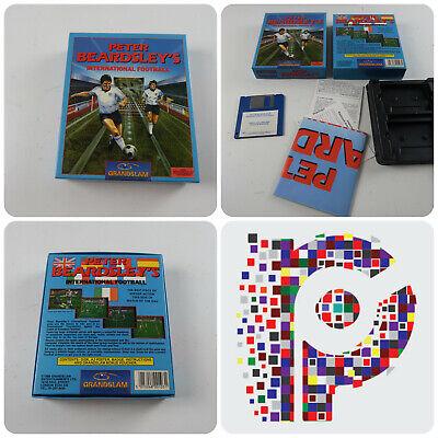 Avere Una Mente Inquisitrice Peter Beardsley's Calcio Internazionali Un Gioco Per Amiga Testato & Lavoro-