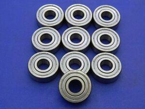 Kugellager 12x32x10 mm Rillenkugellager 10 Stück 6201 2RS