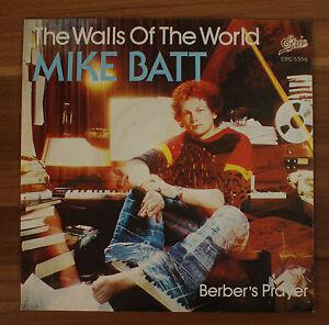 Single-7-034-VINYL-Mike-Batt-the-walls-of-the-World-berbero-039-s-Prayer