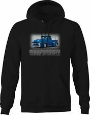 Custom Art Hoodie 1951 51 1952 F-1 F1 F-2 Pickup Truck not affiliated with ford