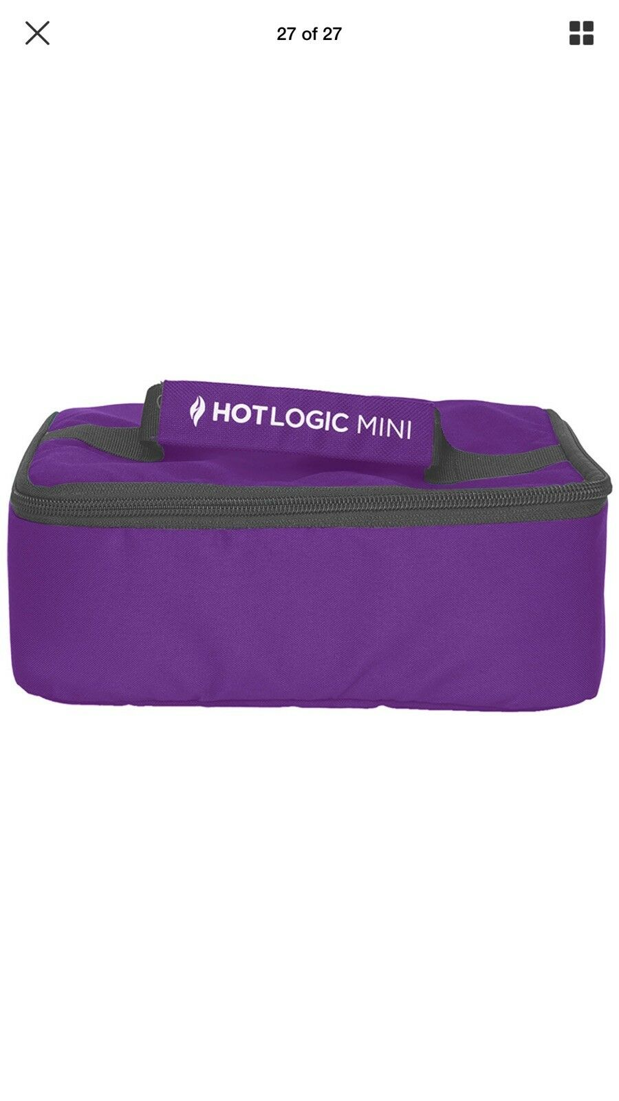 HotLogic Mini Personal Portable Oven, lila