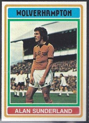 TOPPS-FOOTBALL BOBBY KERR -#247- SUNDERLAND BLUE BACK 1976