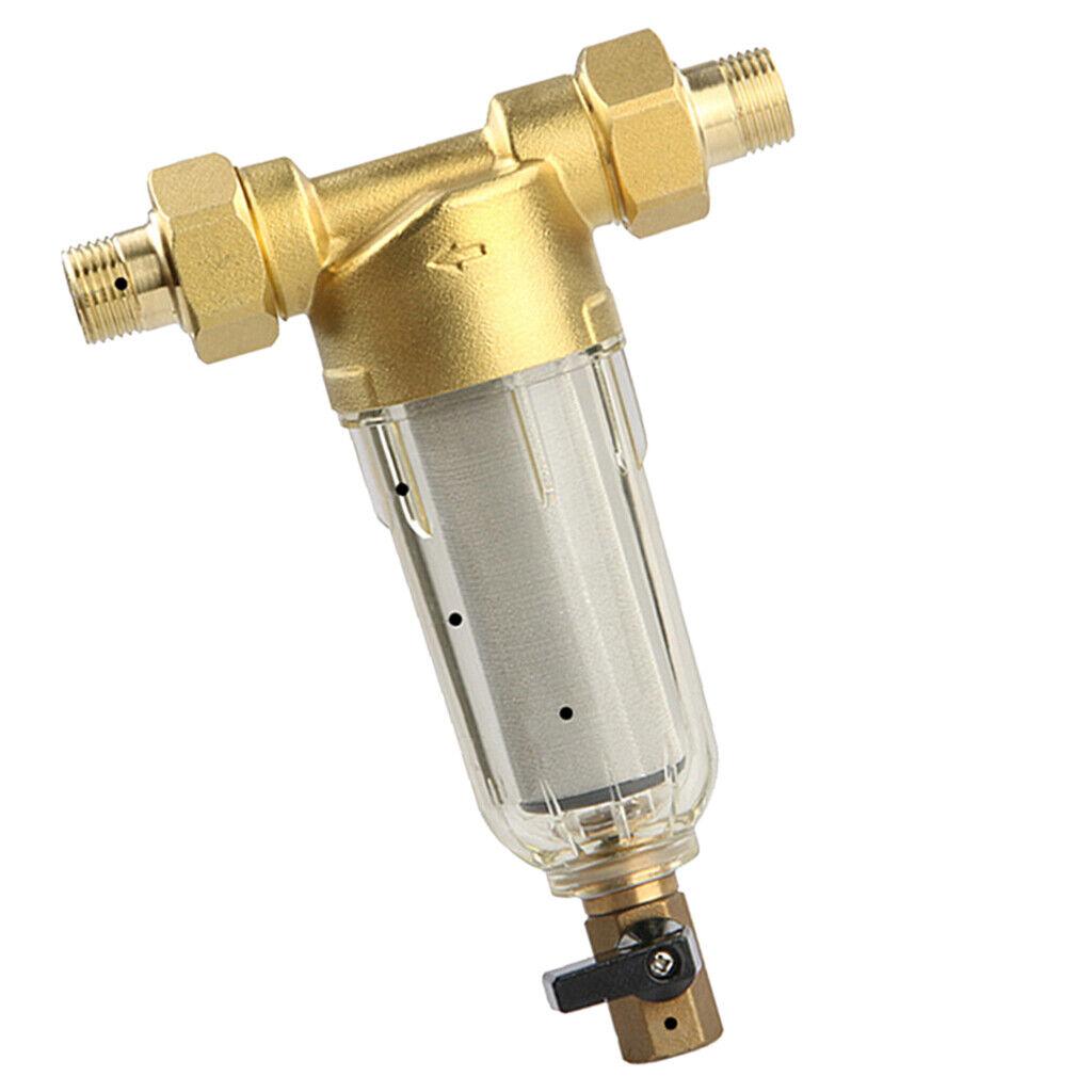 2Zoll Filter Hauswasserfilter Brunnenwasser Hauswasser 40um 1 Ersatzteil