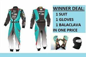 Formel-K-GO-KART-RACE-SUIT-CIK-FIA-Level-II-zugelassenen-Karting-Anzug-Und-Handschuhe