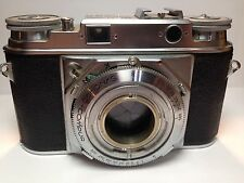 Vintage Voightlander- Prominent(124/R) + Nokton 1: 1.5/50 Lens + telephoto