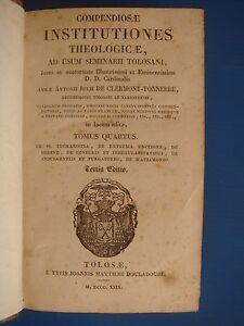 A-J-DE-CLERMONT-TONNERRE-COMPENDIOSAE-INSTITUTIONES-THEOLOGICAE-T-4-1829