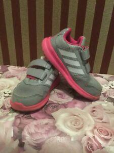 Details zu adidas eco ortholite kinder mädchen schuhe gr. 27 graurosa pink grau