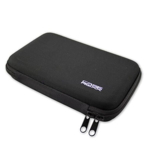 Caseroxx GPS-bolso para Garmin drivesmart 65 en negro de fibras sintéticas